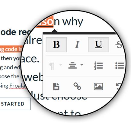 Froala WYSIWYG HTML Editor 2014