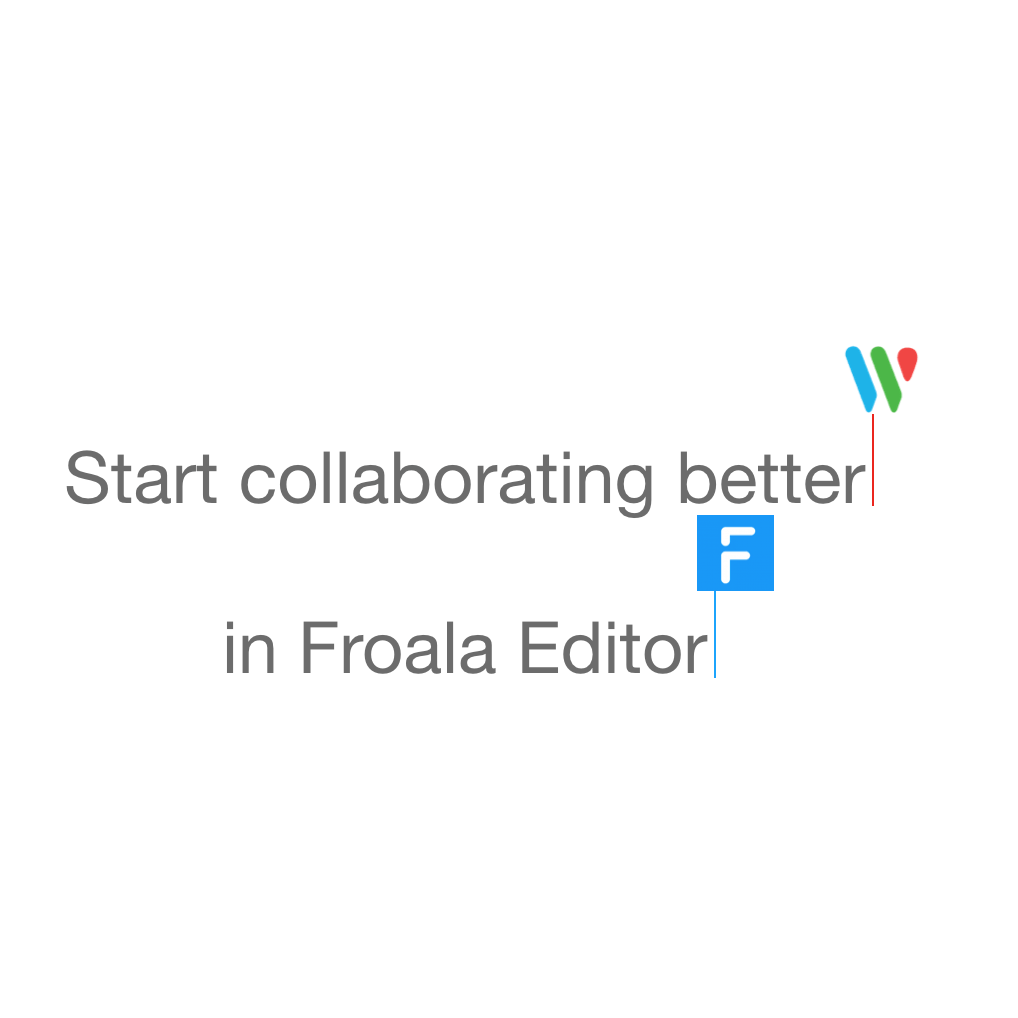 Header with start collaborating better written with a Microsoft Word logo above it.