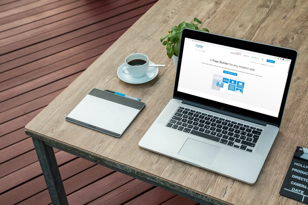 Froala Page builder