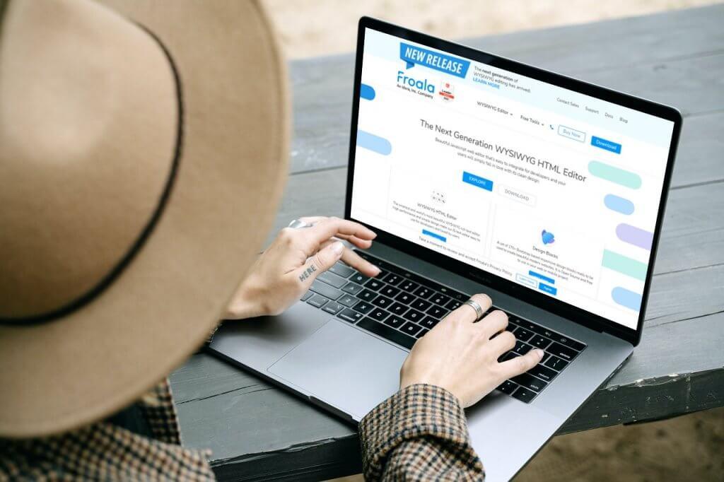 What is Froala WYSIWYG HTMLEditor?